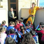Taller «Mujeres narradoras» para los estudiantes de Roquetas de Mar
